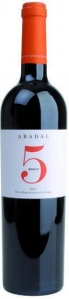 Abadal 5 Merlot Pla de Bages DO Abadal Pla de Bages
