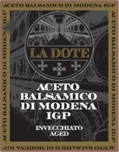 Aceto Balsamico La Dote (4 Jahre) (5L)