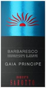 Barbaresco Gaia Principe DOCG Roberto Sarotto Piemont