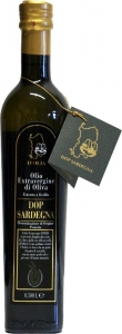 Olivenöl Extra vergine DOP Sardegna Olio D′Olia (500ml) Dolianova