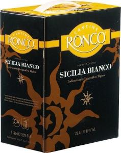 Sicilia Bianco von Ronco aus Sizilien in Italien