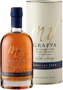 My Grappa Affinata in Barrique Selection Inga Piemont