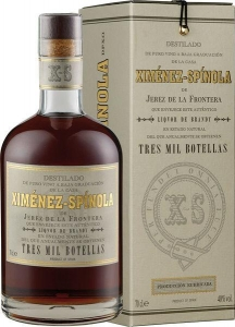 Brandy Tres Mil 3.000 botellas DO (ab April 2017) Ximénez-Spinola Jerez