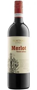 Merlot Terroir Littoral Fortant de France Pays d'Oc