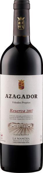 Azagador Reserva DO 2014 Pago de la Jaraba La Mancha
