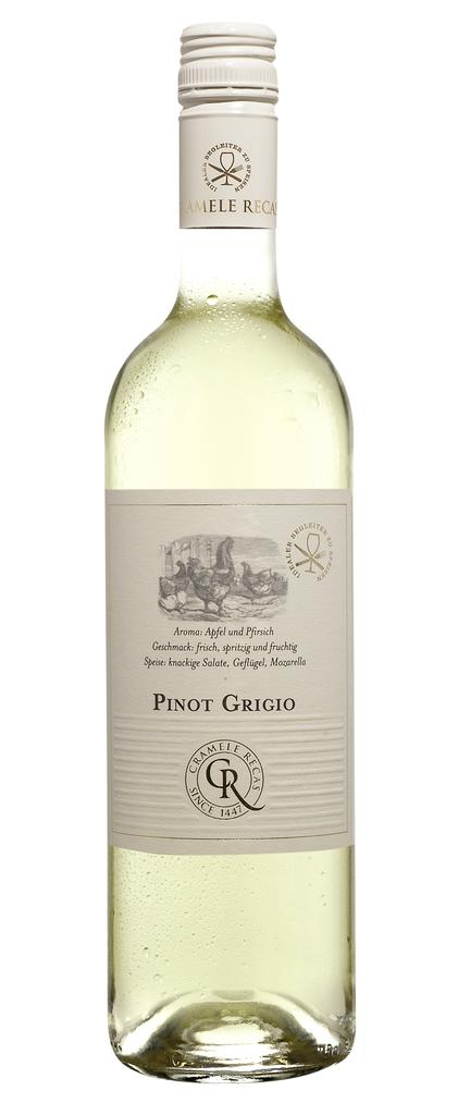 Recas Food Pairing Pinot Grigio 2020 Cramele Recas