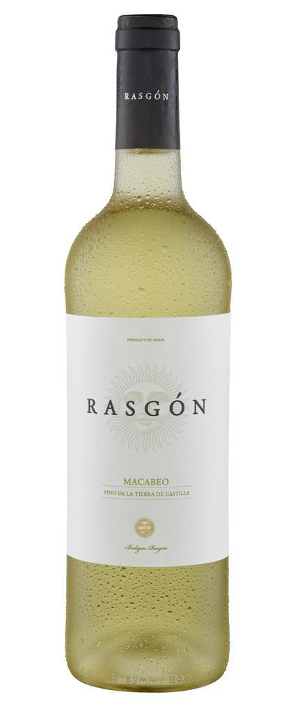 Rasgon Macabeo 2020 Bodegas Rasgon Castilla