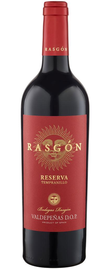 Rasgon Reserva 2014 Bodegas Rasgon Valdepeñas