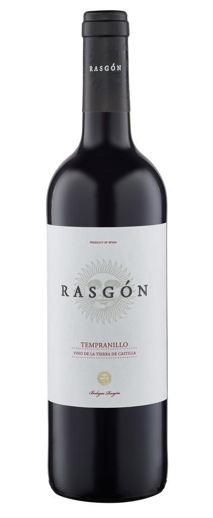 Rasgon Tempranillo 2020 Bodegas Rasgon Castilla