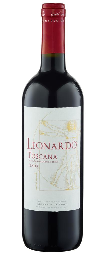 Leonardo Rosso Toscana IGT 2019 Cantine Leonardo da Vinci Toskana